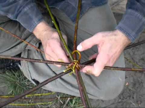 Weidenkorb - Herstellung und Flechttechnik (Teil 1)