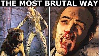 The Most Brutal Way To Interrogate Abel - The Walking Dead Final Season 4 Episode 3: Broken Toys
