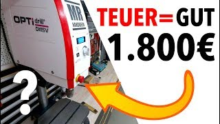 Tischbohrmaschine TEST OPTIdrill DX15V - Ist sie ihr Geld wert?!