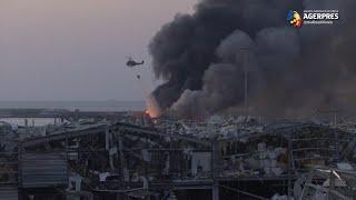 Explozii la Beirut: Peste 100 de morţi (Crucea Roşie libaneză)
