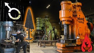 Annual blacksmiths meetup in Granbergsdal Sweden 2017