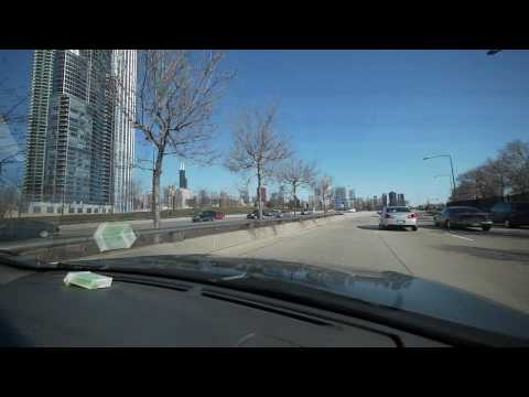 The views from a drive along Lake Shore Drive