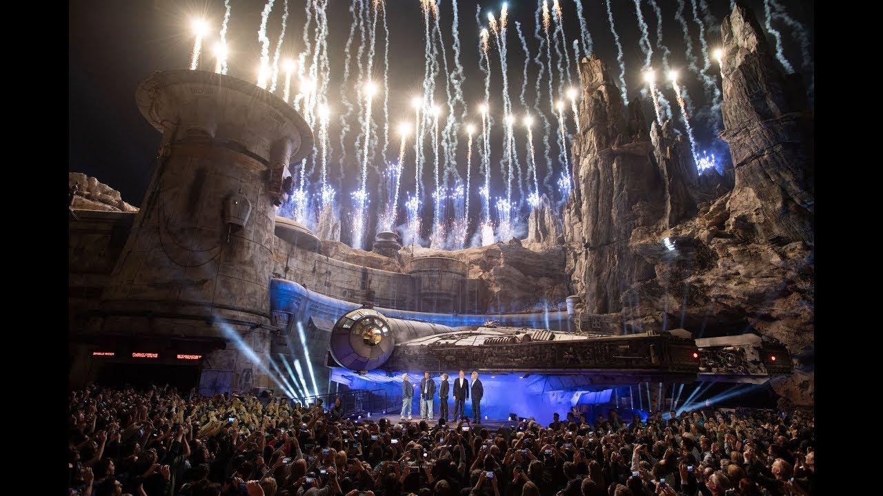 Star Wars Galaxy's Edge Dedication Ceremony at Disneyland