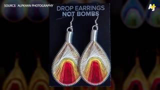 Drop Earrings Not Bombs