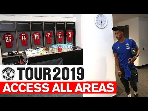 Manchester United | Tour 2019 | Access All Areas v Leeds | Greenwood Rashford Jones & Martial