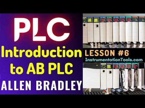 PLC Training 6 - Introduction to Allen Bradley PLC - YouTube