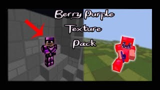 Yiz's Purple Berry PVP TexurePack (250 Subscriber Release)