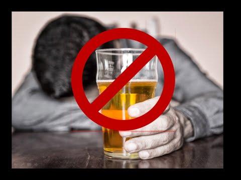Lotta di dipendenza alcolica in condizioni di casa