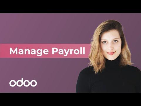 Manage Payroll | odoo Payroll
