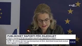 RTK3 Lajmet e orës 13:00 24.01.2020