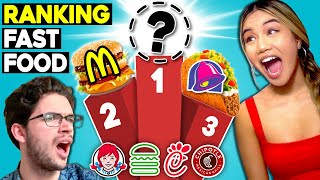 Teens Rank The Top 10 U.S. Fast Food Restaurants