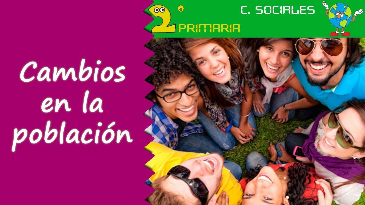 Ciencias Sociales. 2º Primaria. Tema 2. La población cambia