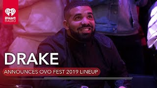 Drake Announces 2019 OVO Fest Lineup | Fast Facts