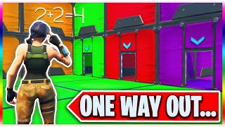 one way out - fortnite riddle maze and answers