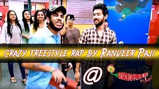 RANVEER PAJI ||CRAZY FREESTYLE RAP ||RADIO MIRCHI||