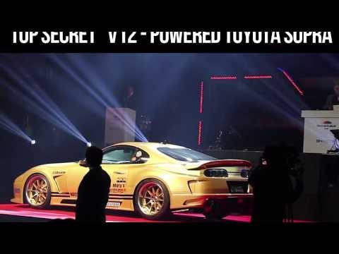 TopSecret V12 Toyota Supra Versteigerung von MK4