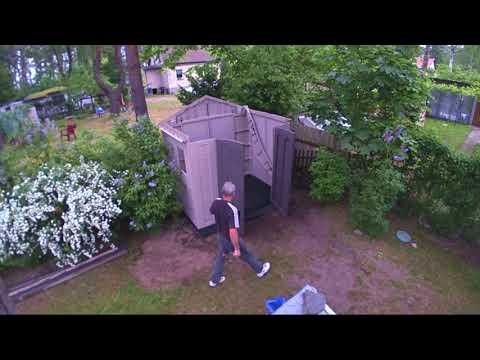 Keter Gerätehaus 8x6 - Aufbau im Zeitraffer (Keter Shed 8x6 - Construction in fast motion)