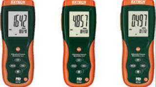 Extech HD755 NIST Manometer with Nist