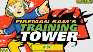 FIREMAN SAM - Fireman Sam's Training Tower Gameplay Episode - Best Kid Games