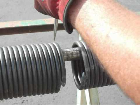 If Torsion Spring Breaks On Metal Garage Door