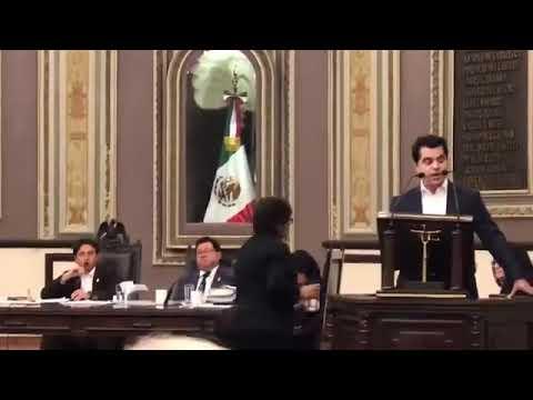 Los diputados del PAN exigen se respete su derecho a la libertad de expresión al interior del recinto legislativo