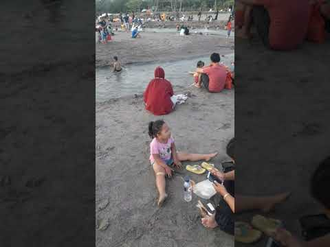 beach in bali. berawe beach