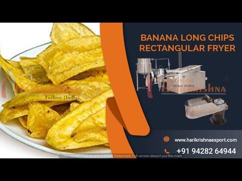 Fully Automatic Banana Chips Making Machine