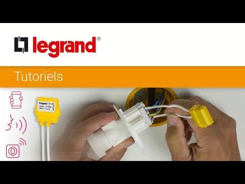 Installer un compensateur actif Legrand sur un circuit d'éclairage
