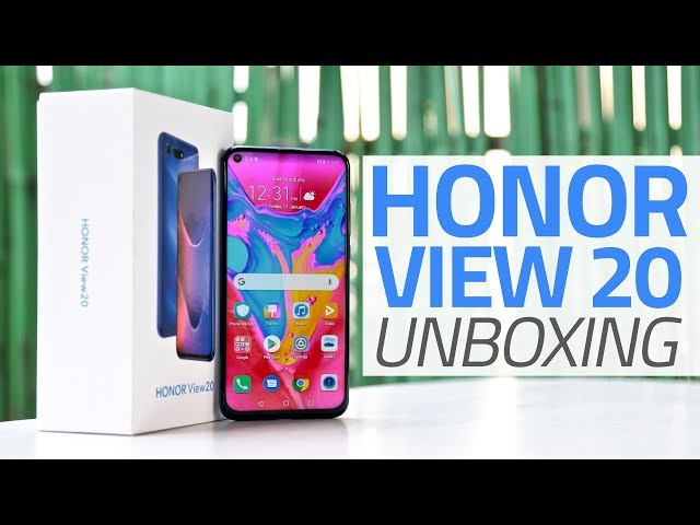 Honor View 20 With 'Hole-Punch' Selfie Camera, Up to 8GB of