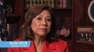 My First Job: Secretary of Labor Hilda Solis