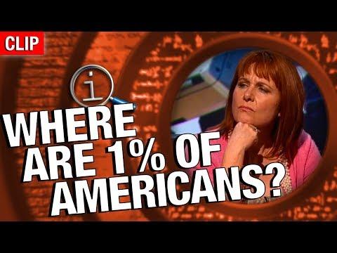 Kde je 1 % Američanů? - QI