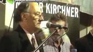 Acto En El PJ Por La Muerte De Kirchner