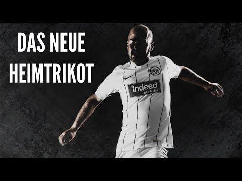 Eintracht Frankfurt Heimtrikot 2017/18 | Hol's dir schwarz auf weiß!