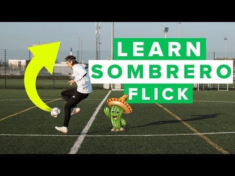 LEARN THE SOMBRERO FLICK | Neymar football skills
