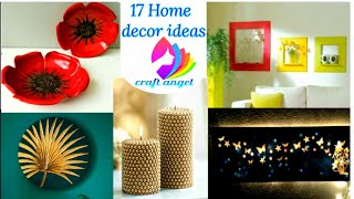 17 Home Decorating Ideas   Art And Craft   5 Minute Crafts   Diy Home Decor Ideas   Craft Angel