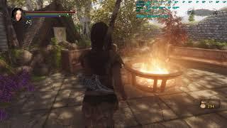 Skyrim: Dark Souls Edition - Красивый Вайтран Ривервуд и Солитьюд