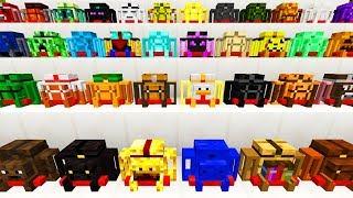77 Super coole Minecraft Rucksäcke! - Minecraft Travellers Backpack Mod
