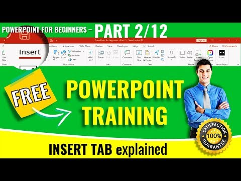 Free PowerPoint Training - Part 2/12 - YouTube