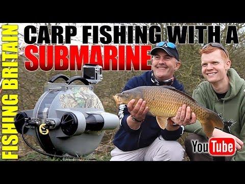 Fishing Britain – Carp Fishing With A Submarine