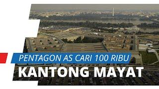 Jumlah Korban Terus Meningkat, Pentagon AS Mencari Tambahan 100.000 Kantong MayatBerstandar Militer