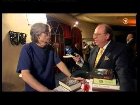 """Stephen King spricht mit Denis Scheck über sein neues Buch """"Doctor Sleep"""""""