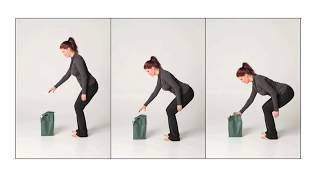 How to BEND without hurting yourself. This helps back pain!