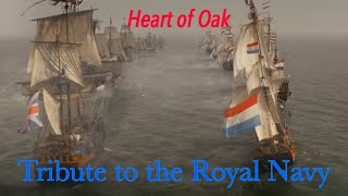 Tribute To The Royal Navy - Heart Of Oak