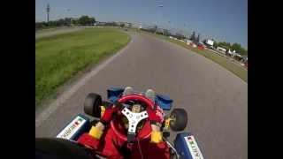 preview picture of video 'GoPro HD - kart 100cc big kart rozzano on board'