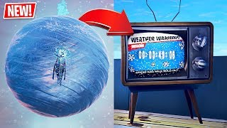 Fortnite ICE STORM EVENT is Happening RIGHT NOW!!