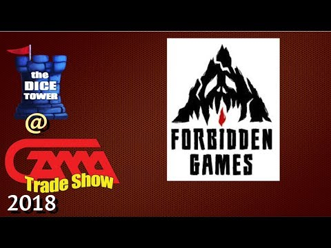 Forbidden Games presents Railroad Rivals and more at GAMA 2018!
