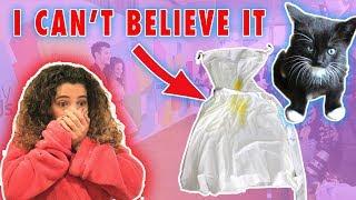 MY KITTEN RUINED MY DRESS!!