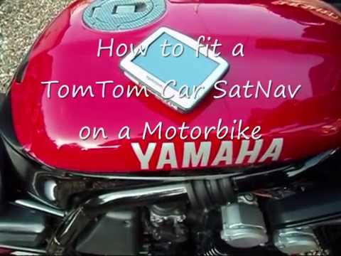 Best options for gps while riding a motorcycle