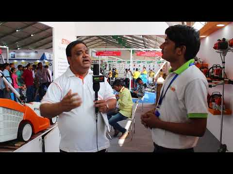 Sthil Interview at Kisan 2017 Pune