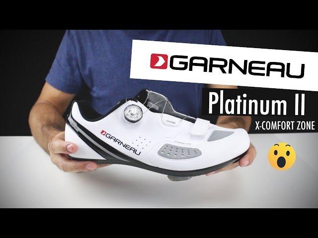Видео Велотуфли Garneau Platinum II белые